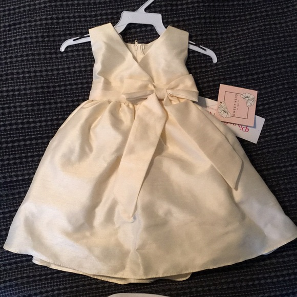 76f4681222 2 Ivory flower girl dresses (new!) size 18 months.